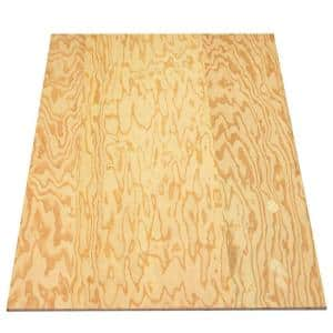 Sanded Plywood (FSC Certified) (Common: 1/4 in. x 4 ft. x 8 ft.; Actual: 0.225 in. x 48 in. x 96 in.)