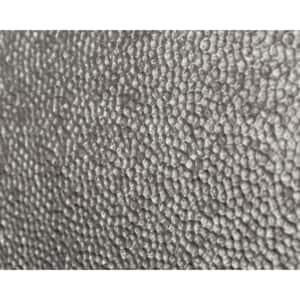 24.3 in. x 18.5 in. Lamina Decorative 3D PVC Backsplash Panels in Crosshatch Silver 12-Pieces