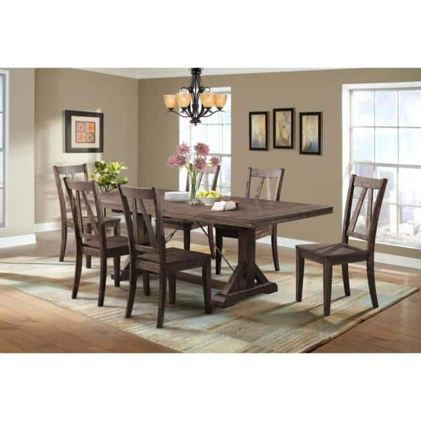Picket House Furnishings Flynn 7 Piece, Dining Room Table And Chairs