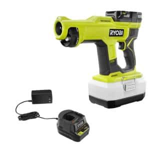 ONE+ 18V Cordless Handheld Electrostatic Sprayer Kit with (1) 2.0 Ah Battery and Charger