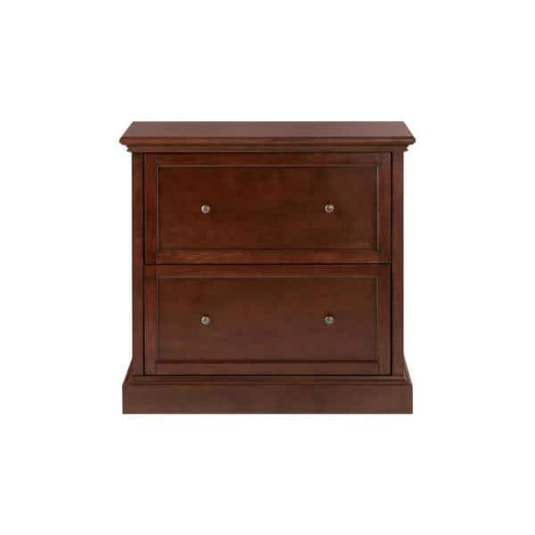 Home Decorators Collection Royce Smokey, File Cabinet 2 Drawer Wood