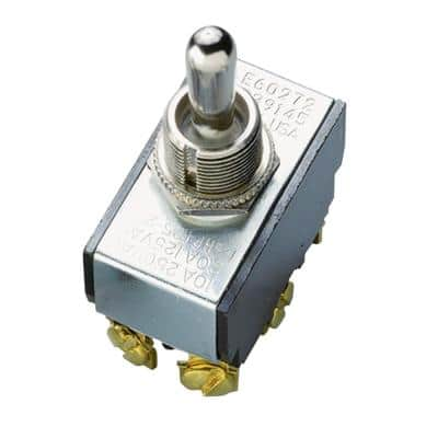 20 Amp Double-Pole Toggle Switch (1-Pack)