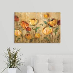 Greatbigcanvas 30 In X 24 In Anitas Poppies By Jennifer Lommers Canvas Wall Art Jl0120036 24 30x24 The Home Depot