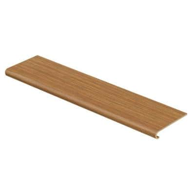 Royal Oak/Classic Auburn Oak 47 in. Length x 12-1/8 in. Wide x 1-11/16 in. Thick Laminate to Cover Stairs 1 in. Thick