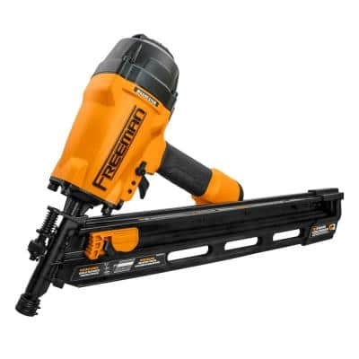 2nd Generation Pneumatic 34-Degree 3-1/2 in. Clipped Head Framing Nailer
