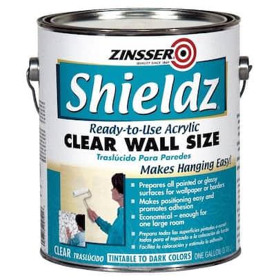 1 gal. Shieldz Acrylic Clear Wall Size (4-Pack)