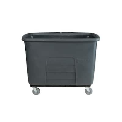 20 Cubic Foot 800 lbs. Capacity Heavy Duty Auto Cube Truck - Gray