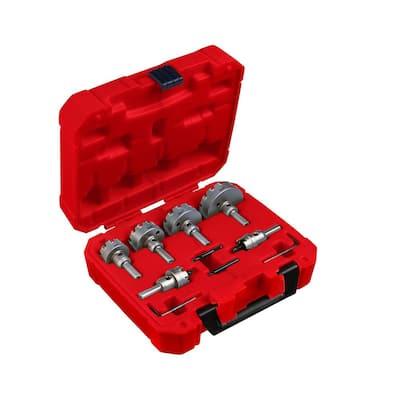 Carbide Hole Cutter Kit (8-Piece)