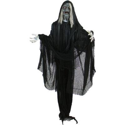 75 in. Touch Activated Animatronic Witch