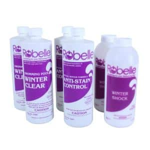 Triple-Action 30,000 Gallon Swimming Pool Winter Closing Chemical Kit