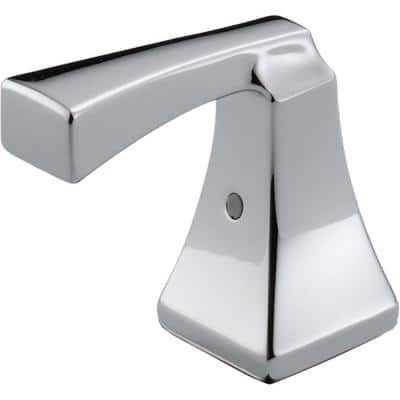 Dryden 2-Metal Lever Handle Kit for Bathroom Faucets in Chrome
