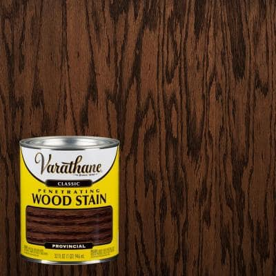 Varathane 1 Qt English Chestnut Classic Wood Interior Stain 339713 The Home Depot