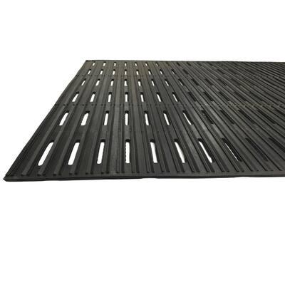 PRO-TEX 36 in. x 720 in. Rubber Drain-Thru Runner Commercial Mat