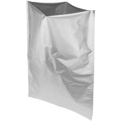 5 gal. 20 in. x 30 in. Mylar Bags Foil Insulated Bag 5-Pack For Food Shipping and Storage