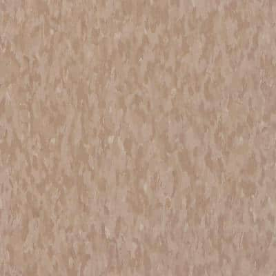 Imperial Texture VCT 12 in. x 12 in. Cafe Latte Standard Excelon Commercial Vinyl Tile (45 sq. ft. / case)