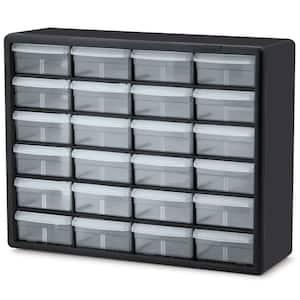 24-Compartment Small Parts Organizer Cabinet