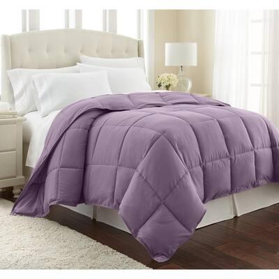 Vilano Down Alternative Lavender Solid King/California King Microfiber Comforter