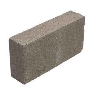 16 in. x 8 in. x 4 in. Light Weight Concrete Block Solid