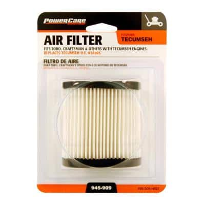 Air Filter for Tecumseh and Craftsman 3.5-6.5 HP Engines