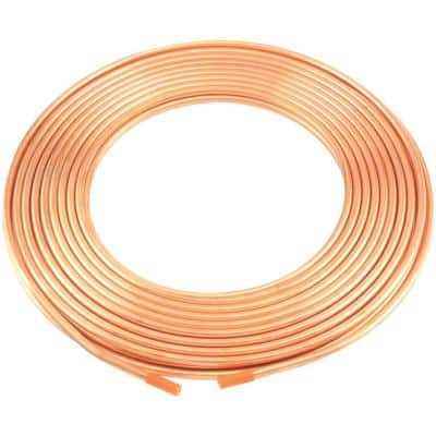 50 ft. Roll 0.25 in. Copper Refrigeration Tubing