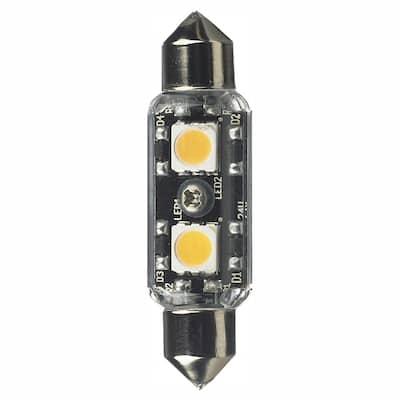 12-Volt LED Clear Festoon Lamp (3000K)
