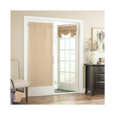 Bryson 26 in. W x 68 in. L Blackout French Door Panel in White