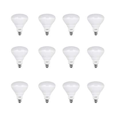 65-Watt Equivalent BR40 Dimmable CEC Title 24 Compliant LED Energy Star 90+ CRI Flood Light Bulb in Soft White (12-Pack)