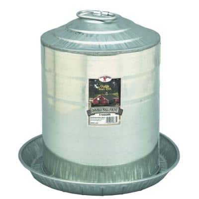 5 Gal. Double Wall Fount