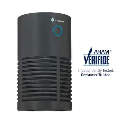 15 in. 4-in-1 HEPA Filter Air Purifier for Homes, Medium Rooms, Allergies, Smoke, Dust, Dander, Pollen and Odor