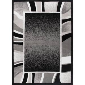 Premium Black 9 ft. 2 in. x 12 ft. 5 in. Indoor Area Rug