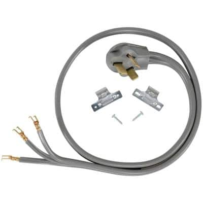 4 ft. 6/3 3-Wire Open-End-Connector 50 Amp Range Cord