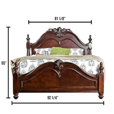 Mandura Cal.King Bed in Cherry