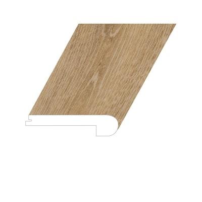 Romulus Concept Oak 1 in. T x 4.5 in. W x 94.5 in. L Vinyl Flush Stair Nose Molding