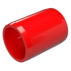 1/2 in. Furniture Grade PVC External Coupling in Red (10-Pack)
