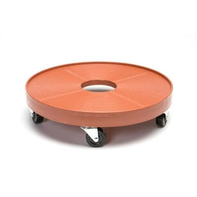 16 in. Plant Dolly/Caddy Terracotta