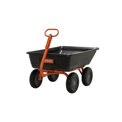 4-Wheel Poly Garden Cart