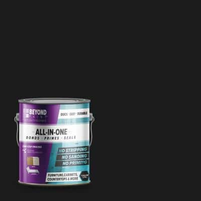 1 gal. Licorice Furniture, Cabinets, Countertops and More Multi-Surface All-in-One Interior/Exterior Refinishing Paint