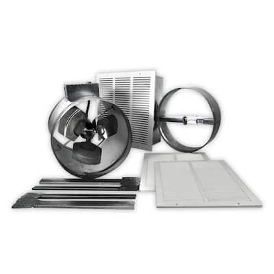 Cool Breeze 1200 CFM Metal Power Garage Exhaust Fan