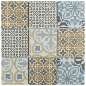 Porto 11-3/4 in. x 11-3/4 in. x 6 mm Porcelain Mosaic Tile (9.79 sq. ft. / case)