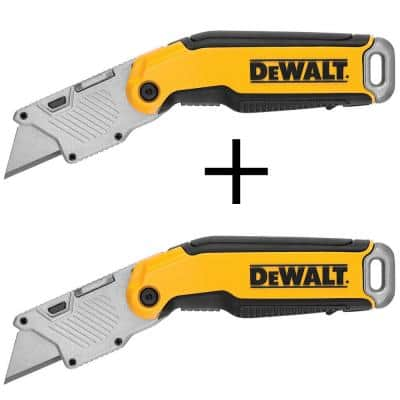 2.44 in. Fixed Folding Utility Knife (2-Pack)