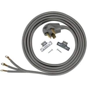 10 ft. 10/3 3-Wire Closed-Eyelet 30-Amp Dryer Cord