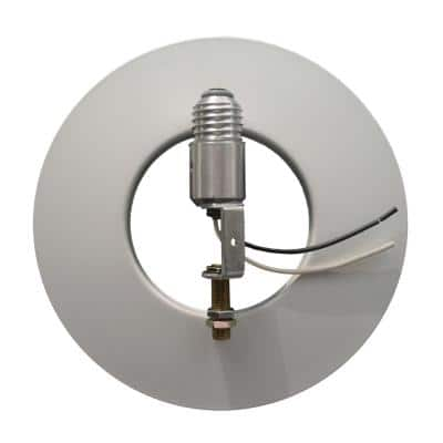 Illuminaire Accessories Recessed-Can Lighting Kit In White