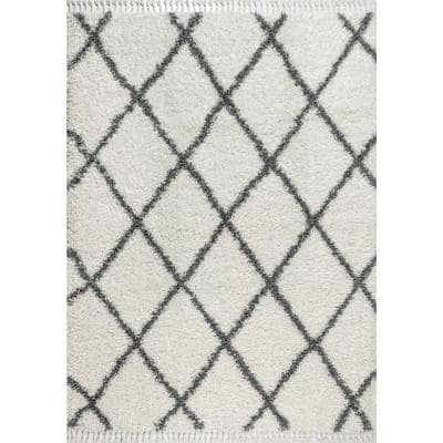 Cream Grey Area Rugs Rugs The Home Depot