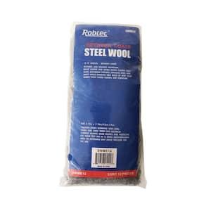 Grade #0 Medium Fine Steel Wool Pads (12-Pack)
