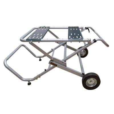 Rolling Foldable Table Saw Stand
