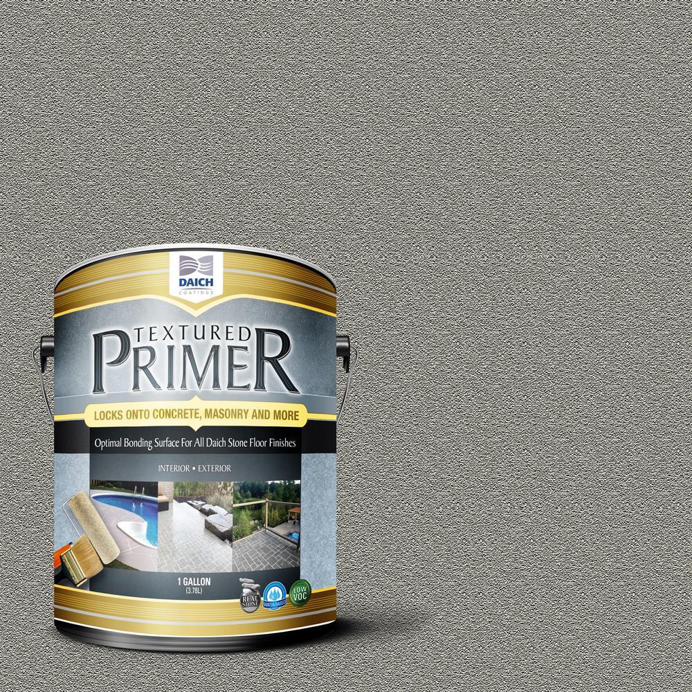 Textured 1 gal. Raw Gray Interior Exterior Bonding Primer Penetrating Anti-Slip
