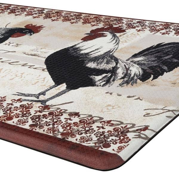 Achim Rooster 18 In X 30 Anti Fatigue Mat Anftmrst12 The Home Depot