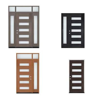 Regency Modern Customizable Fiberglass Door Collection