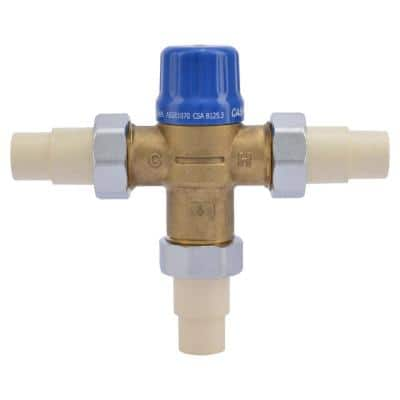 1/2 in. HG-110 CPVC Thermostatic Mixing Valve