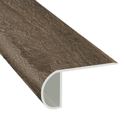 Winchester Oak 1.03 in. T x 2.23 in. W x 94 in. Length Overlap Vinyl Stair Nose